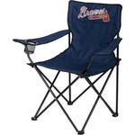 Logo Chair Atlanta Braves Quad Chair