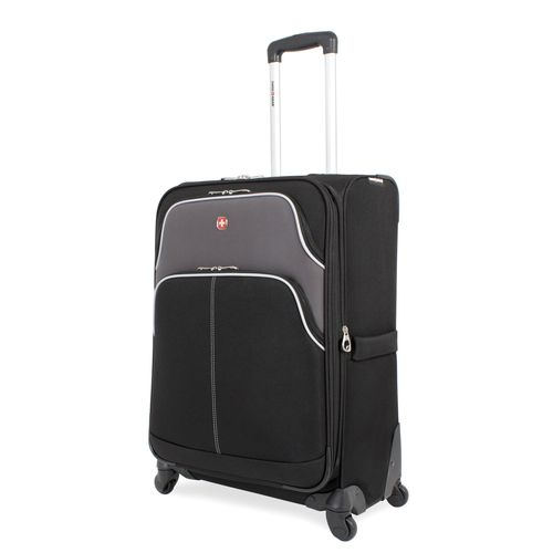 "SwissGear Aubon Collection 24.5"" Upright Spinner Suitcase"