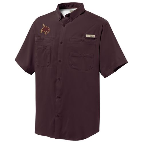 Columbia Sportswear™ Men's Texas State University Collegiate Tamiami™ Shirt