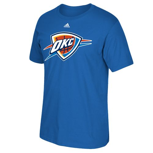 adidas™ Men's Oklahoma City Thunder Tip-Off Huge Preferred Logo T-shirt
