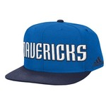 adidas™ Men's Dallas Mavericks Authentic On-Court Snapback Ball Cap