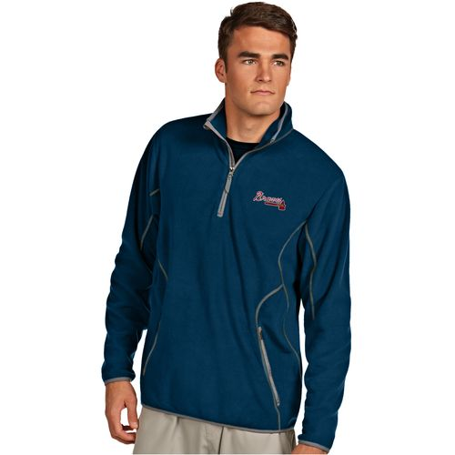 Antigua Men's Atlanta Braves Ice Pullover - view number 1