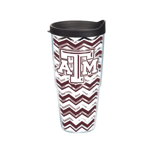 Tervis Texas A&M University Chevron Tumbler with Lid