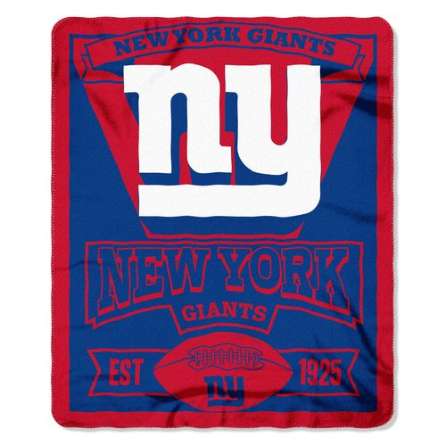 The Northwest Company New York Giants Marquee Fleece Throw