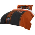 The Northwest Company Cincinnati Bengals Full-Size Comforter and Sham Set