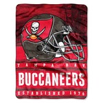 The Northwest Company Tampa Bay Buccaneers Stacked Silk Touch Throw - view number 1