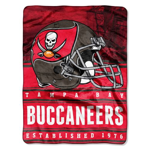 The Northwest Company Tampa Bay Buccaneers Stacked Silk Touch Throw