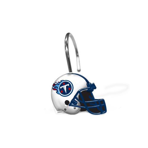 The Northwest Company Tennessee Titans Shower Curtain Rings