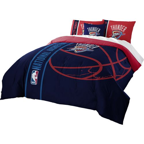 Display product reviews for The Northwest Company Oklahoma City Thunder Full Comforter and Sham Set