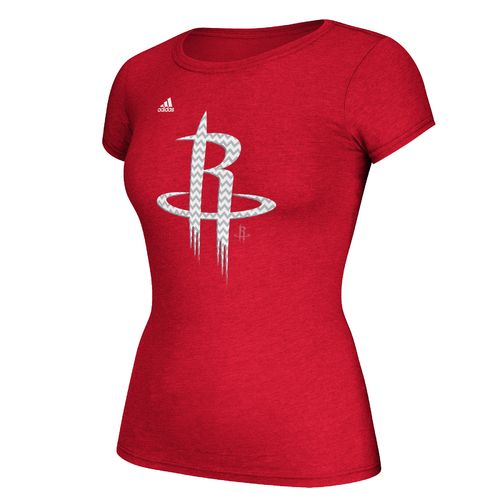 adidas™ Women's Houston Rockets Cap Sleeve T-shirt