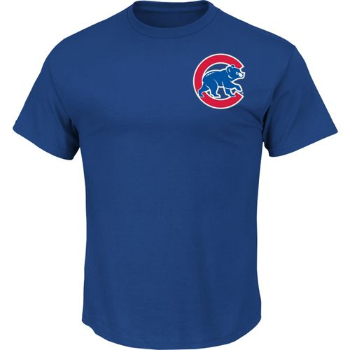 Majestic Men's Chicago Cubs Official Wordmark T-shirt