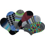 BCG™ Boys' Multipattern No-Show Socks 6-Pack