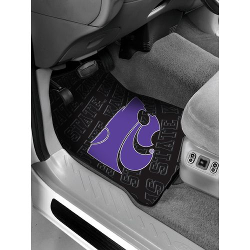 The Northwest Company Kansas State University Car Floor Mats 2-Pack