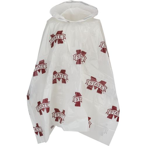 Storm Duds Adults' Mississippi State University Lightweight Stadium Rain Poncho