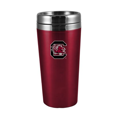 The Fanatic Group University of South Carolina 16 oz. Rubberized Stainless-Steel Tumbler