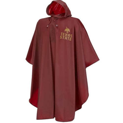 Storm Duds Adults' Texas State University Slicker Heavy Duty PVC Poncho