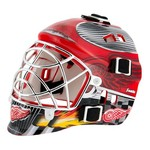 Franklin NHL Team Series Detroit Red Wings Mini Goalie Mask - view number 1