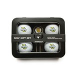 Team Golf Marquette University 4-Ball Tin Gift Set