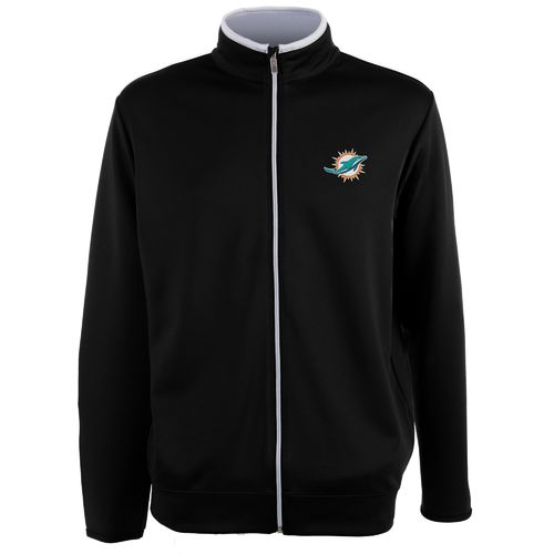 Antigua Men's Miami Dolphins Leader Jacket - view number 1