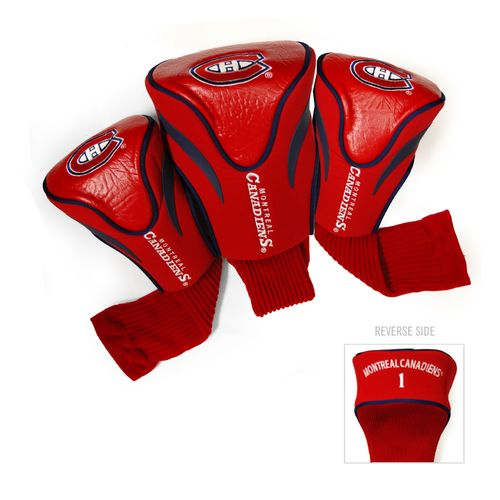Display product reviews for Team Golf Montreal Canadiens Contour Sock Head Covers 3-Pack