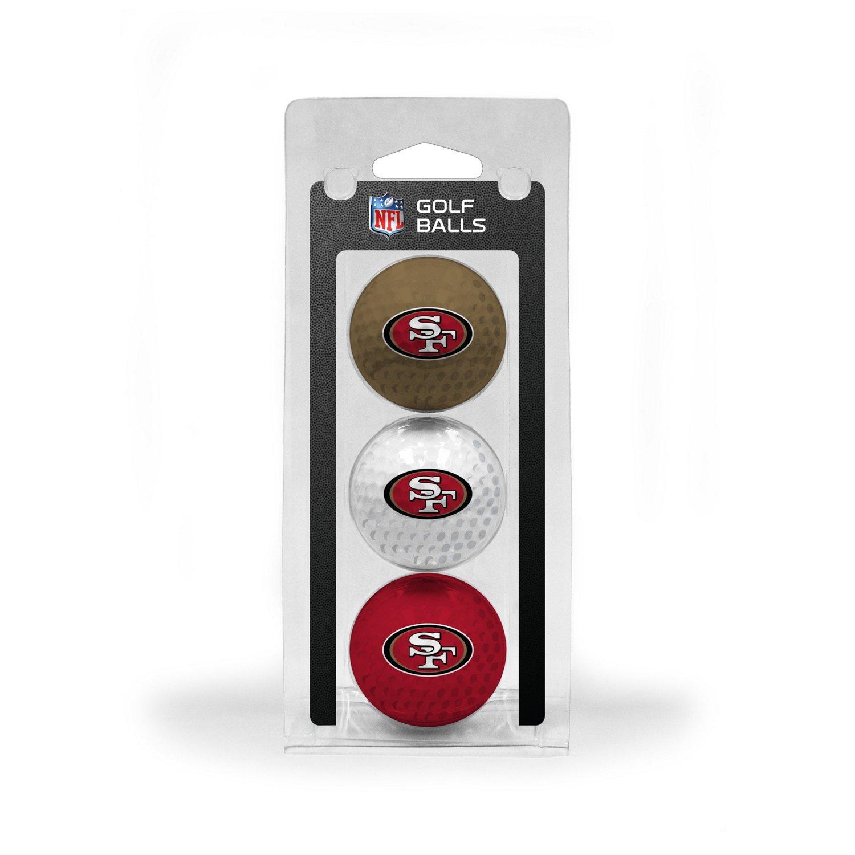 Team Golf San Francisco 49ers Golf Balls 3-Pack