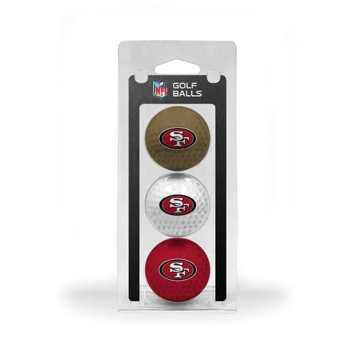 Team Golf San Francisco 49ers Golf Balls 3-Pack