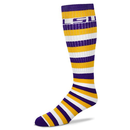 For Bare Feet Adults' Louisiana State University Pro-Stripe
