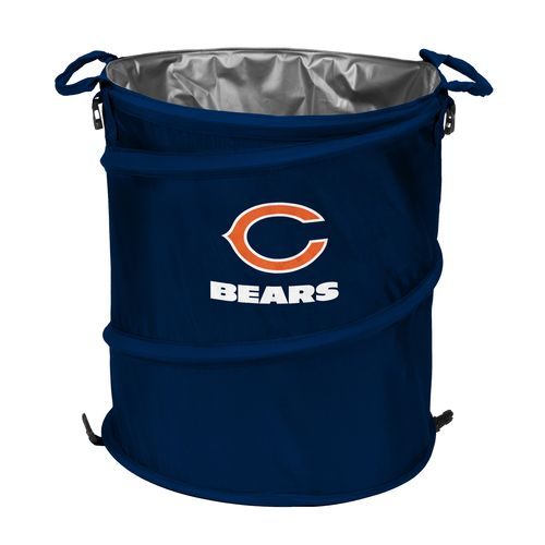 Logo™ Chicago Bears Collapsible 3-in-1 Cooler/Hamper/Wastebasket - view number 1