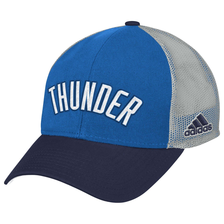 adidas™ Men's Oklahoma City Thunder Team Nation Slouch Adjustable Cap