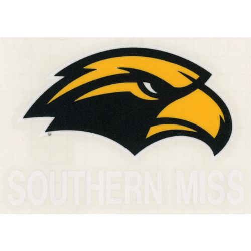 "Stockdale University of Southern Mississippi 4"" x 7"" Decals 2-Pack"