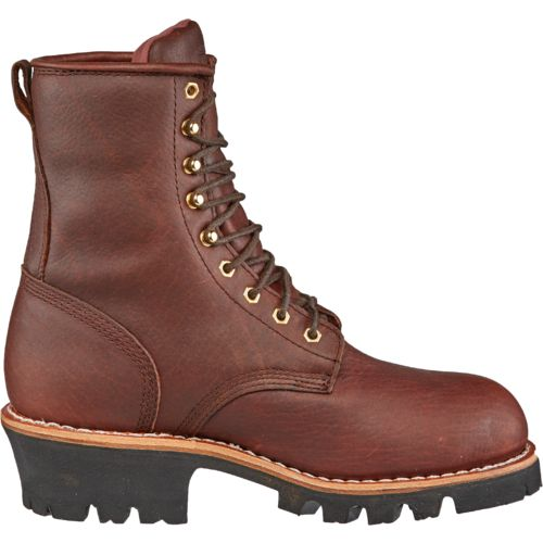 Chippewa Boots Men's Briar Insulated Waterproof Steel-Toe Logger Rugged Outdoor Boots