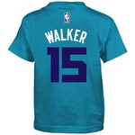 adidas Boys' Charlotte Hornets Kemba Walker #15 Player T-shirt