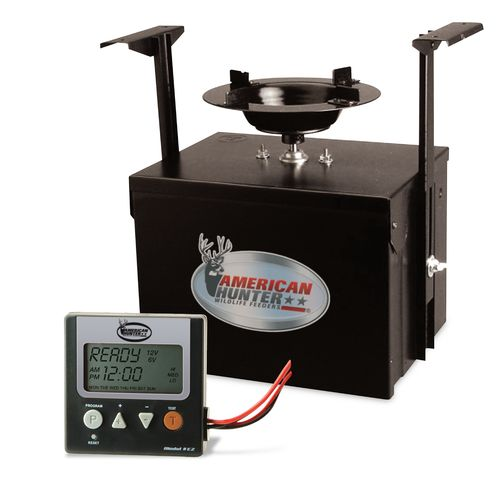 American Hunter Heavy Duty Spin FM-K6/12 Digital Feeder Kit