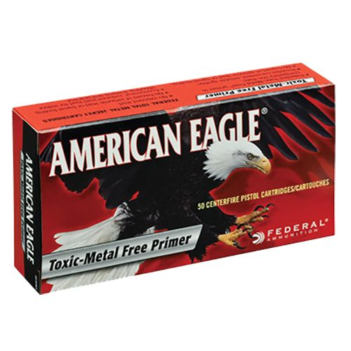 Federal Premium® American Eagle® IRT Total Metal Jacket Centerfire Handgun Ammunition
