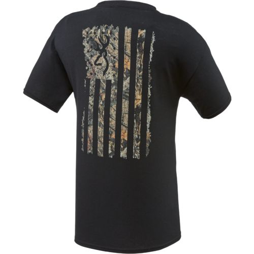 Browning Men's Camo Country Flag T-shirt - view number 2