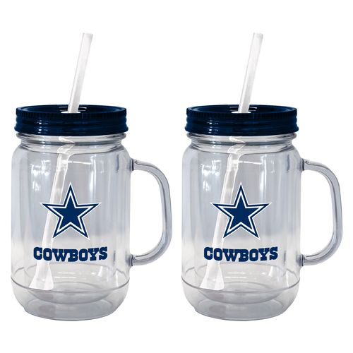 Boelter Brands Dallas Cowboys 20 oz. Handled Straw