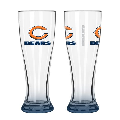 Boelter Brands Chicago Bears Elite 16 oz. Pilsners 2-Pack