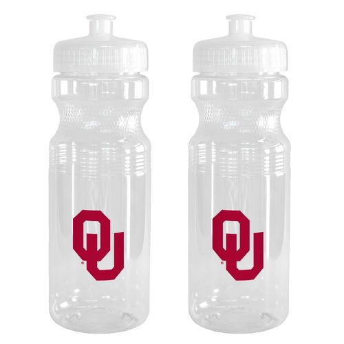 Boelter Brands University of Oklahoma 24 oz. Squeeze Water Bottles 2-Pack