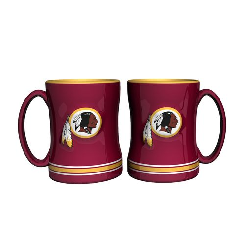 Boelter Brands Washington Redskins 14 oz. Relief Mugs 2-Pack