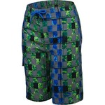 O'Rageous® Boys' Abstract Checkers True Boardshort