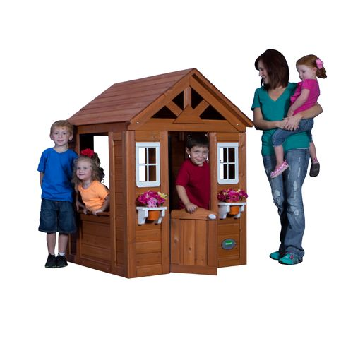 Backyard Discovery™ Timberlake Playhouse