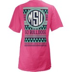 Three Squared Juniors' Mississippi State University Cheyenne T-shirt