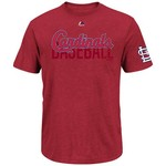 Majestic Men's St. Louis Cardinals All In The Game T-shirt