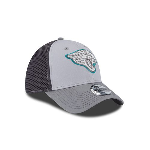 New Era Men's Jacksonville Jaguars Grayed Out Neo 39THIRTY Cap - view number 3