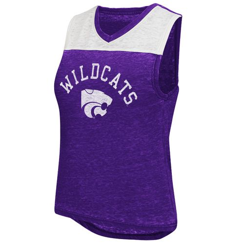 Colosseum Athletics Women's Kansas State University Kiss Cam Tank Top