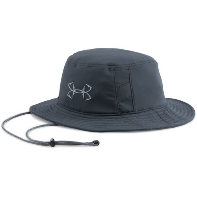 Under armour men 39 s fish hook bucket hat academy for Under armour fish hook hat