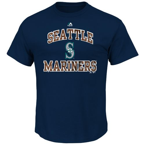 Majestic Men's Seattle Mariners Inside the Box T-shirt