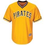 Majestic Men's Pittsburgh Pirates Josh Harrison #5 Cool Base Replica Jersey - view number 2