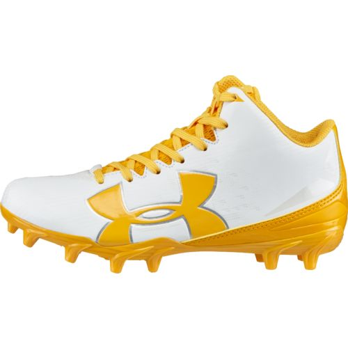 Under Armour Boys' Fierce Phantom Mid MC Football Cleats