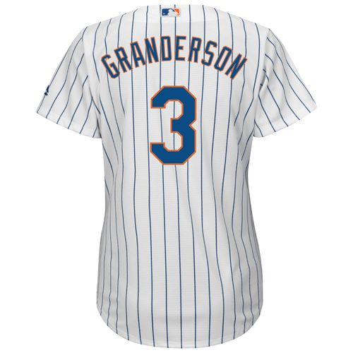 Majestic Women's New York Mets Curtis Granderson #3 Cool Base® Replica Home Jersey - view number 1